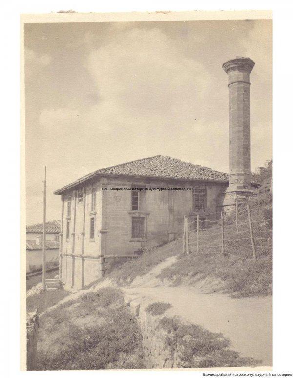 Фото. Бахчисарай. Мечеть Ешиль-Джами.