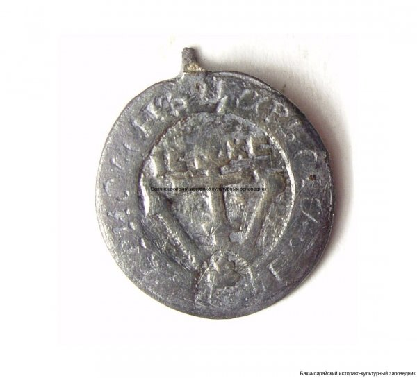 Медальон. Мальтийский крест. Россия, первая половина XIX в.