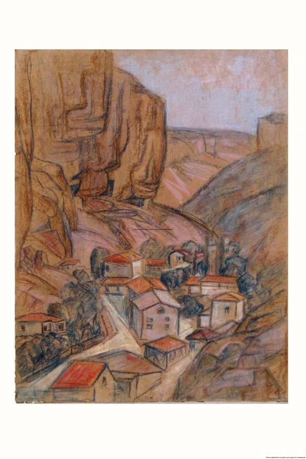 Нагаевская Е.В. Дома и скалы