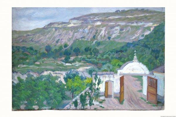 Шиллинговский П. У монастыря