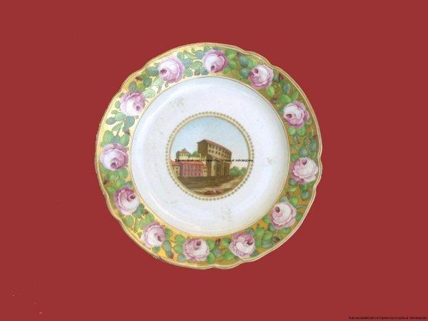 Тарелка. Россия. XVIII-XIX в. (2)