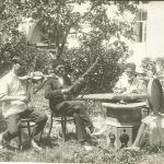 Народные музыканты. Бахчисарай, нач. XX в. (КП 11695-Ф 589, фонды БИКАМЗ)
