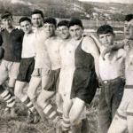 Футбольная команда городской школы им. Н. Крупской