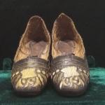 Фото 2. Туфли женские. Кожа, шитье, золоченая нить. Крым, н. ХIХ в. Фонды ГБУ РК БИКАМЗ.