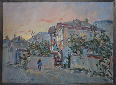 Мочальский Н. А., картина «Дом в Бахчисарае», дар автора.