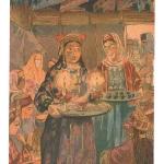 Н.Жаба. Свадьба. Угощение кофе. 1920-е