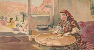 2.Изготовление чебуреков.
